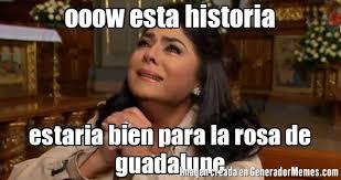 Rosa De Guadalupe Meme - ooow esta historia estaria bien para la rosa de guadalupe meme de