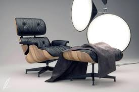 innovative the eameses wanted their lounge chair and ottoman to