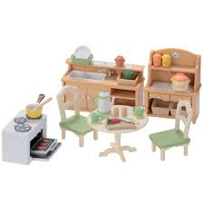 sylvanian families country kitchen set toys r us