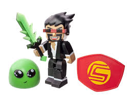 captainsparklez house in real life tube heroes 3 inch captain sparklez with accessory amazon co uk