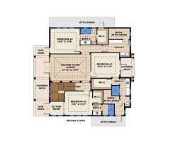 contemporary style house plan 4 beds 4 50 baths 8674 sq ft plan