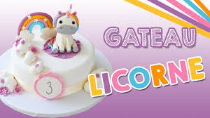decoration cupcake anniversaire gâteau licorne unicorn cake youtube
