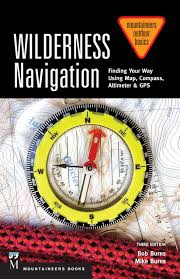 Map Compass Wilderness Navigation Finding Your Way Using Map Compass