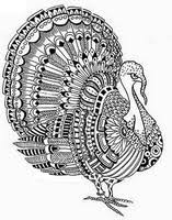 coloring pages thanksgiving