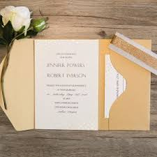 invitation pockets pocket wedding invitations plumegiant