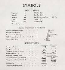 Map Symbols First World War Com Battlefield Maps