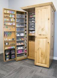 scrapbooking cabinets and workstations superior craft wardrobe and workstation storage unit great pictures