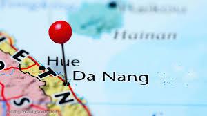 Saigon On World Map by Da Nang Map Vietnam Maps