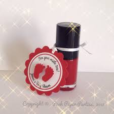 Baby Shower Favor Messages - one cute nursery nail polish favors for baby showers a new trend