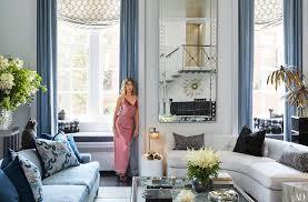 Home Interior Tiger Picture Carole Radziwill New York Apartment Tour