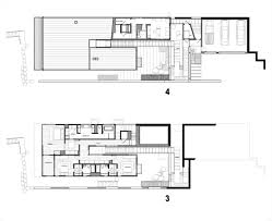 Interior Courtyard House Plans by Gallery Of Courtyard House On A Steep Site Hutchison U0026 Maul