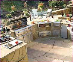outdoor cooking prep table outdoor cooking station kitchen outdoor cooking station area outside