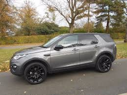 land rover discovery sport land rover discovery sport td4 hse luxury 4x4 5dr for sale