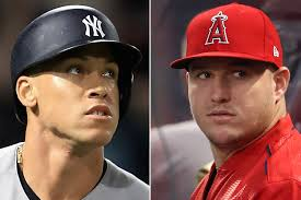 How Aaron Judge Became A Bomber The Inside Story Of The Yankees - mike trout is a big aaron judge fan