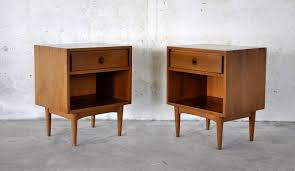 mid century modern furniture furniture astounding image of pair of decorative square solid wood
