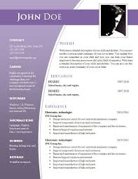 Resume Template Download Free Microsoft Word Free Resume Templates Download Word Resume Template And