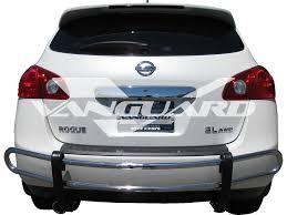 nissan rogue rear bumper protector rear bumper guard double tube s s auto beauty vanguard