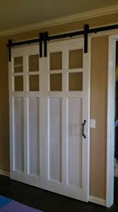 Double Barn Doors by Custom Pine Large Single Barn Door That Looks Like Double Doors
