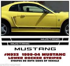 stripes on mustang mustang stripes graphics decals ebay