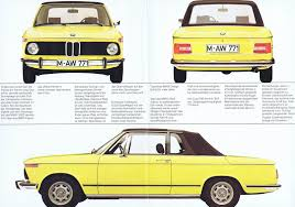 bmw 2002 baur cabriolet baurspotting bmw 2002 baur cabrio targa brochure 1974