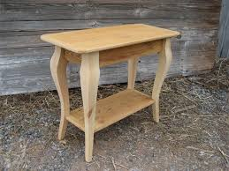 Reclaimed Barn Wood Furniture Amish Reclaimed Barn Wood Sofa Table With Shelf