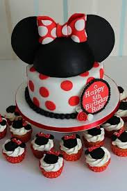 Red Minnie Mouse Cake Decorations 142 Best Cakes Minnie Mouse Images On Pinterest 2nd Birthday