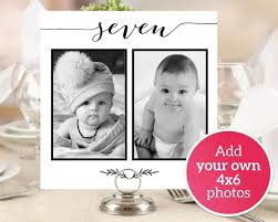 personalized photo table numbers printable numbers 1 40 photo