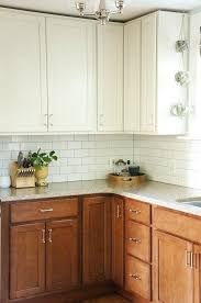 painting old kitchen cabinets before and after laminate redo