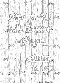 when you fall colouring page page u0027 fall and you