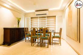 Union Park Dining Room 3 Bhk Exclusive Apartment For Rent In Union Park Khar West