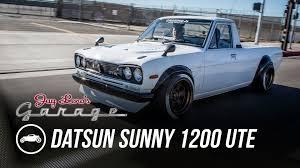 nissan sunny 1990 modified 1974 datsun sunny 1200 ute jay leno u0027s garage youtube