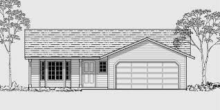 House With 2 Bedrooms House Front Color Elevation View For 9957 Small House Plans 2