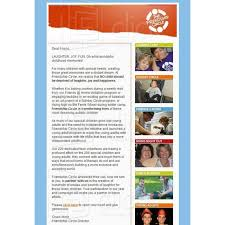 friendship circle newsletter email template 3 email newsletters