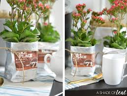 Starbucks Light Roast How To Make A Flower Pot From A Coffee Bag