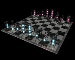 wireframe chess set by ricegnat on deviantart