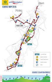 Run Map Morrisons Great Birmingham Run Racecheck