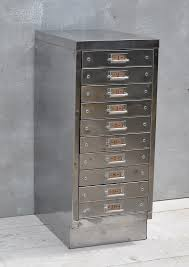 industrial lateral file cabinet vintage industrial steel filing cabinet 10 drawer home barn vintage