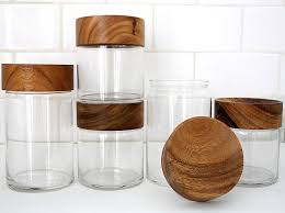 clear glass canisters for kitchen merchant 4 fresh work from international designers glass
