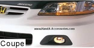 2001 honda accord fog lights genuine honda accord accessories exterior accessories factory