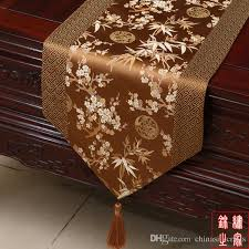 luxury damask table runner classic chinese knot luxury damask table runners wedding decorative