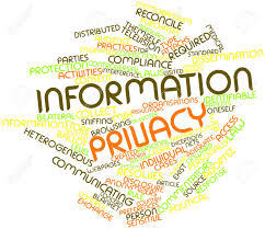 abstract word cloud for information privacy with related tags