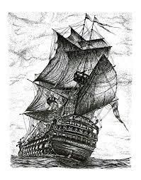 pen drawing of ship art pinterest drawings drawing pics and