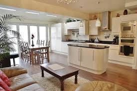 Kitchen Diner Design Ideas Kitchen As Stage For Living And Dining Ingenious Layout