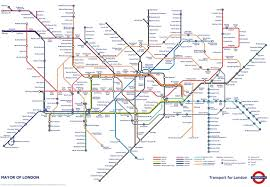 London Airports Map The Tube Map Now With Added Postcodes Londonist Throughout London