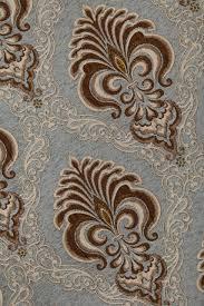 fabric bleu fleur de lis
