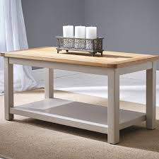 hutch portsmouth stone grey painted coffee table