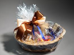 where to buy plastic wrap for gift baskets wrapped gift basket inhabitat green design innovation