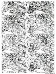 adults snakes complex coloring pages printable