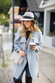 light blue trench coat the classic trench gal meets glam trench and met