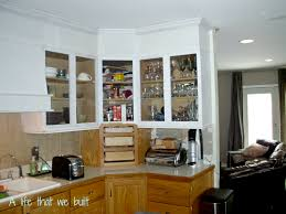 Kitchen Stock Cabinets Bye Bye Space Above Your Kitchen Cabinets A Life That We Built